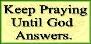 Be RELENTLESS in prayer (2/2)