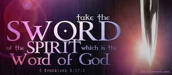 Image result for armed with the word of god